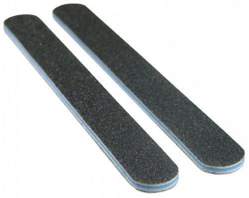 Standard Black 100/100 (Blue Ctr) Washable Nail File by Spivler Enterprises