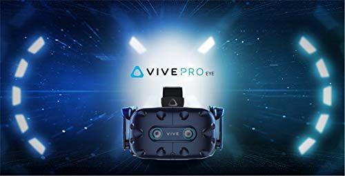 HTC Vive PRO Eye Katapultiere Dein Unternehmen mit präzisem Eye-Tracking in Neue Sphären (HTC Vive PRO Eye)
