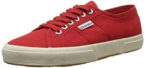 Superga Cotu Classics Unisex-Erwachsene Sneakers, Rot (975), 43