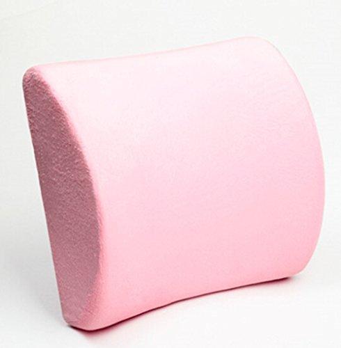 Rose Seat Memory Foam coussin lombaire Oreiller Retour Aide Pad