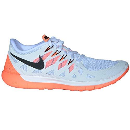 Nike White/Black/Bright mango/Platinum