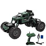 Fulltime E-Gadget 1:16 RC Auto 4WD Off Road Wasserfester Fahrzeug 2.4G 15km / h Funkfernsteuerungsauto (Armeegrün)