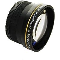 Polaroid Studio Series 2.2X High Definition Telephoto Lens Téléobjectif Noir - lentilles et filtres d'appareil photo (Téléobjectif, Noir, 5,2 cm, Boîte)