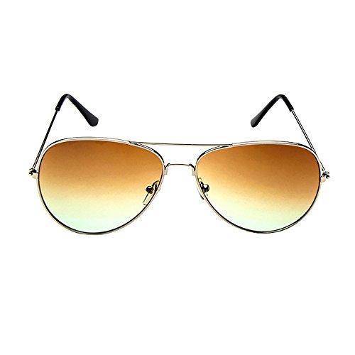URIBAKY Unisex Herren Damen Retro,Vintage verspiegelte Gläser polarisierte Sonnenbrillen Brillen Fashion,Brillen trends 2019