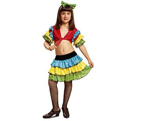 Kostüm Rumbera - My Other Me Kostüm Rumbera, Größe 3-4Jahre (viving Costumes mom01053) 3-4 años