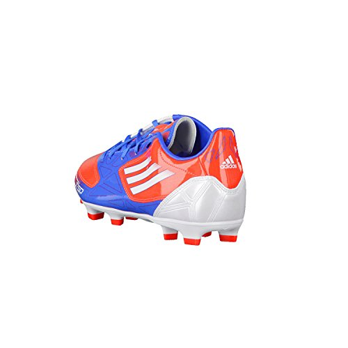 adidas F10 Trx Fg, Chaussures de football mixte adulte Rouge et bleu