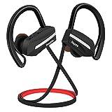 Auriculares Bluetooth Deportivos, Bagotte In-Ear Auriculares Bluetooth 4.1 Cascos Inálambrico, Cancelación de Ruido CVC 6.0 Hidrófugo IPX7 con Micrófono, para Fitness Correr, para iPhone y Android