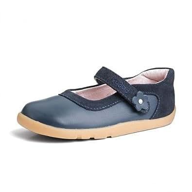 Bobux I Walk Shoes - Girls iWalk Shine on Ballet Shoe Navy Ballet Shoe