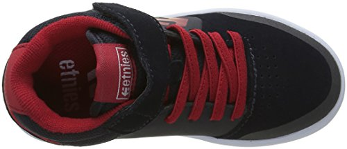 Etnies Kids Marana Mt, Chaussures de Skateboard Garçon Noir (Navy Red White 465)