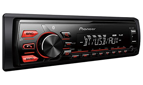 pioneer mvh-289bt single-din car stereo (black) Pioneer MVH-289BT Single-Din Car Stereo (Black) 41ROoaNRELL