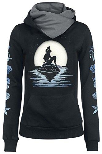 The Little Mermaid Moonshine Felpa donna nero M