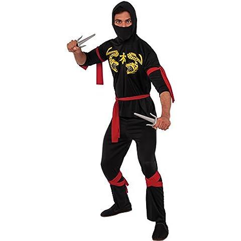 Rubbies - Disfraz de ninja para niño, talla única (55026STD)