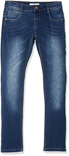 NAME IT Mädchen NKFROSE DNMTATIANA 3002 Pant NOOS Jeans, Blau (Dark Blue Denim), 158 -