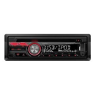 Clarion cz215e Autoradio CD/DVD 2x USB schwarz