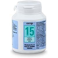 Schüssler Salz Nr. 15 Kalium jodatum D12 - 400 Tabletten, glutenfrei