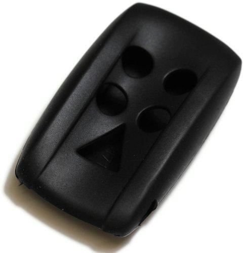 black-silicone-key-fob-cover-case-smart-remote-pouches-protection-key-chain-fits-jaguar-06-12-w-push