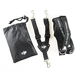 Anbee Dual Shoulder Belt Neck Strap Sling Lanyard for DJI Phantom 4 / 3 / 2 Vision/ Inspire 1 Transmitters