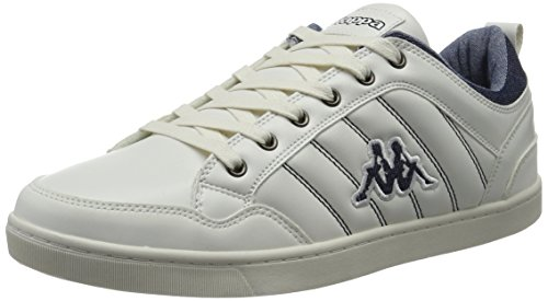 Kappa Rooster, Sneakers Basses Homme Blanc (White/navy)