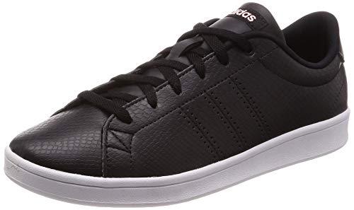 classic fit 5fe66 7007b adidas Advantage Clean Qt, Zapatillas de Tenis para Mujer, Negro Core  Black Clear