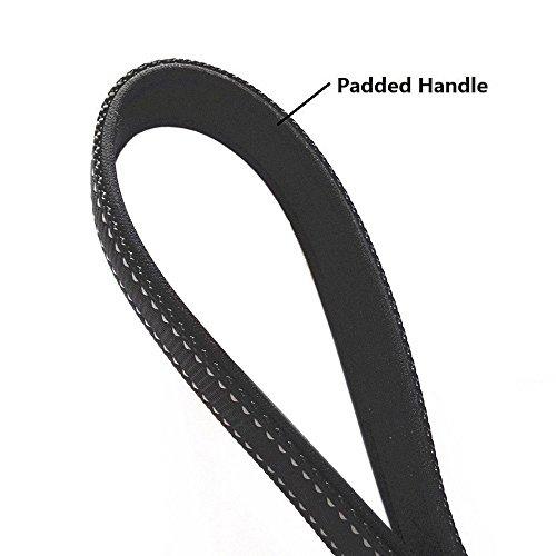 ADOGO-Three-Dog-Lead-No-Tangle-Reflective-Adjustable-Triple-Dog-Leash-Black