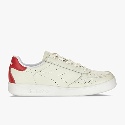 Diadora B.Elite Premium L, Sneaker a Collo Basso Uomo White