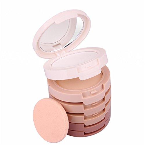 Pure Vie® Professionale 5 Colori Viso Cipria Fondotinta Correttore Cosmetico Camouflage Palette Trucco - Adattabile a Uso Professionale che Privato
