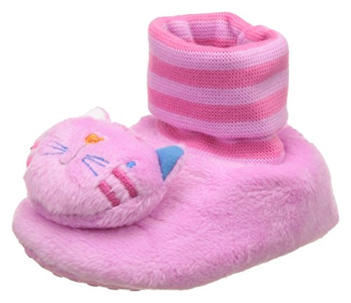 Mothercare Baby Girl's Pink Booties - (3-6 months)