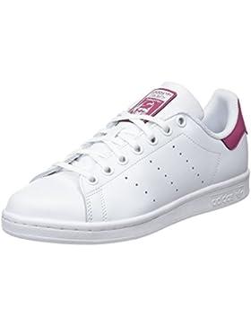 Adidas Stan Smith J, Zapatillas de Gimnasia Unisex Niños