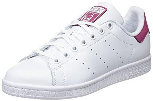 adidas Stan Smith J, Chaussures de Fitness Mixte enfant, Blanc (Ftwbla/Ftwbla/Ftwbla 000), 37 1/3 EU