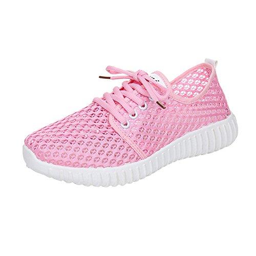 Lässige Essex Short (LILIHOT Frauen Freizeitschuhe Mesh Atmungsaktiv Rutschfeste Einfarbig Outdoor Schnürschuhe Laufschuhe Fitness Straßen Laufschuhe Sneaker Sportschuhe Mode Freizeitschuhe)