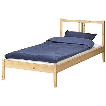 ikea bettgestell fjellse holz bett in 90x200 cm aus massiver unbehandelter kiefer. Black Bedroom Furniture Sets. Home Design Ideas