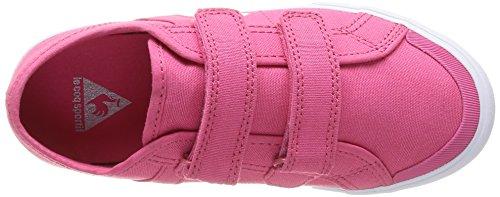 Le Coq Sportif Saint Malo Ps Strap, Baskets mode mixte enfant Rose (Honeysuckle)