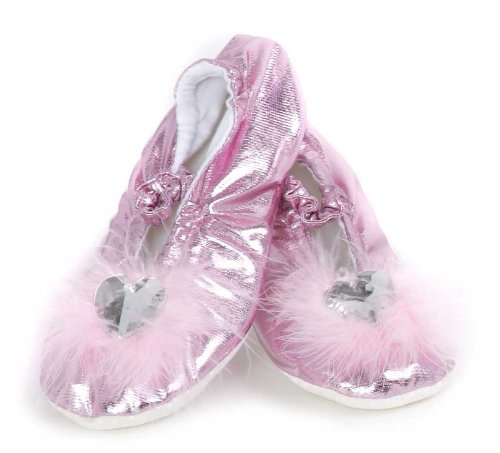 Great Pretenders Pink Princess Hausschuhe groß