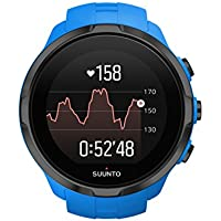 Suunto SS022663000 Spartan Sport Wrist HR - Reloj GPS Multideporte - Sumergible hasta 100m - Pulsómetro de Muñeca - Pantalla Táctil de Color - Azul - Talla única
