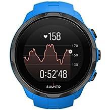 Suunto, Spartan Sport Wrist HR, Reloj GPS Multisport para atletas, 12h de autonomía, Sumergible hasta 100m, Pulsómetro de muñeca, Pantalla táctil de color, Azul, SS022663000