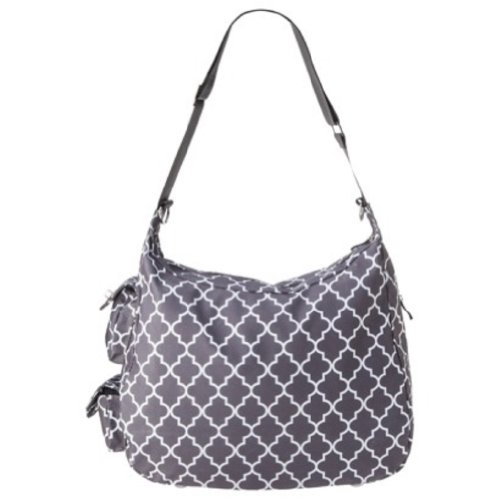 JJ Cole Jj Cole Diaper Bag Hobo Gray