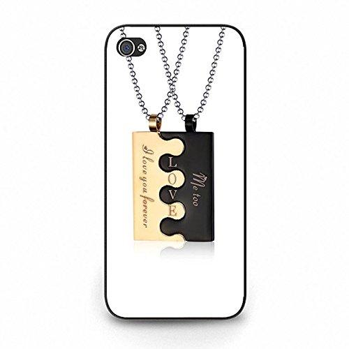 Necklace Iphone 5c Case Fashion Love Accessories Necklace Phone Case Cover for Iphone 5c Best Friends Special Color172d