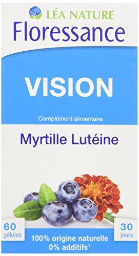 Floressance Phytothérapie Bien Être Capital Yeux Myrtille / Lutéine 60 Gélules Lot de 3