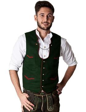 Ludwig und Therese Herren Trachtenweste Emil grün H06A0013