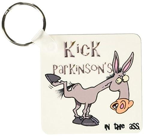 3dRose Kick Parkinsons Disease In The Ass Awareness Ribbon Cause