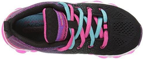 Skechers Glitterama Textile Turnschuhe Black/Multi