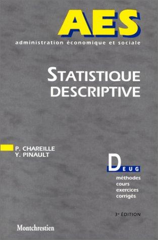 Statistique descriptive. AES. 3ème édition