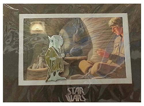 Disney Authentic Star Wars Weekends 2014 Concept Art Yoda Pin LE 2000 New