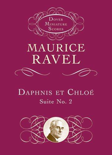 Daphnis Et Chloe Suite No. 2 (Miniature Score): Taschenpartitur für Orchester (Dover Miniature Scores) -