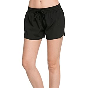 FITIBEST Damen Sport Shorts Funktions-Sport Hot Pants Fitness Yoga Kurze Hosen Trainingshose Jogginhose