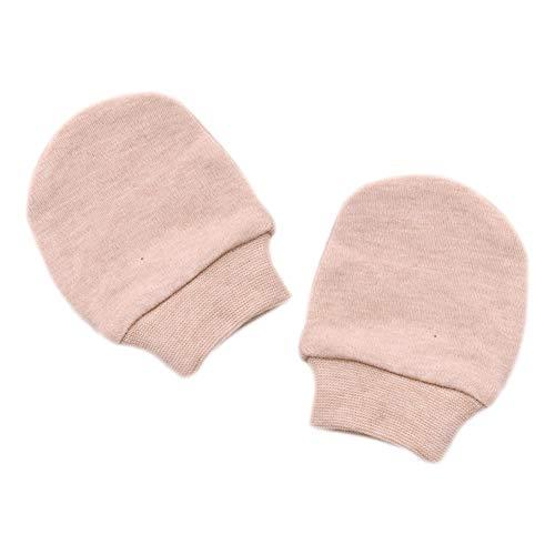 Xuxuou 1 Paires Moufles de Protection Anti-Griffures,Moufles naissance en coton  biologique, c8019ced9e0