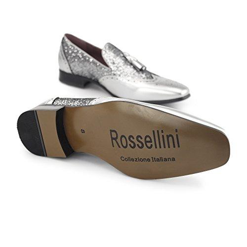 Rossellini, Mocassini uomo Silver