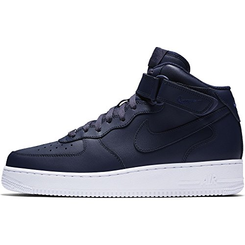 Nike Air Force 1 uomo bianco Canvas Sneakers STRINGATE scarpe da basket