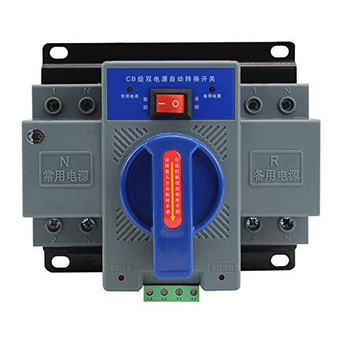 KoToTip Automatic Transfer Switch, Dual Power, Heim, Büro, 63A 2P 50 / 60Hz Dual Power Automatic Transfer Switch 150x137x118mm