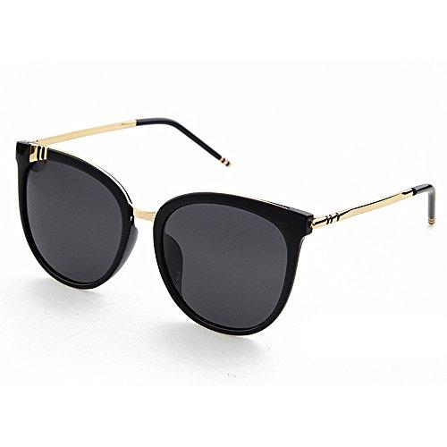 Ppy778 Elegante Frauen polarisierten Sonnenbrillen, Cat Eye Vollformat, Outdoor Tourismus UV-Schutz (Color : White)